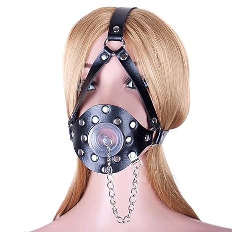Mordaza/máscara extremas boca arnés cabeza ajustable y cubierta ...