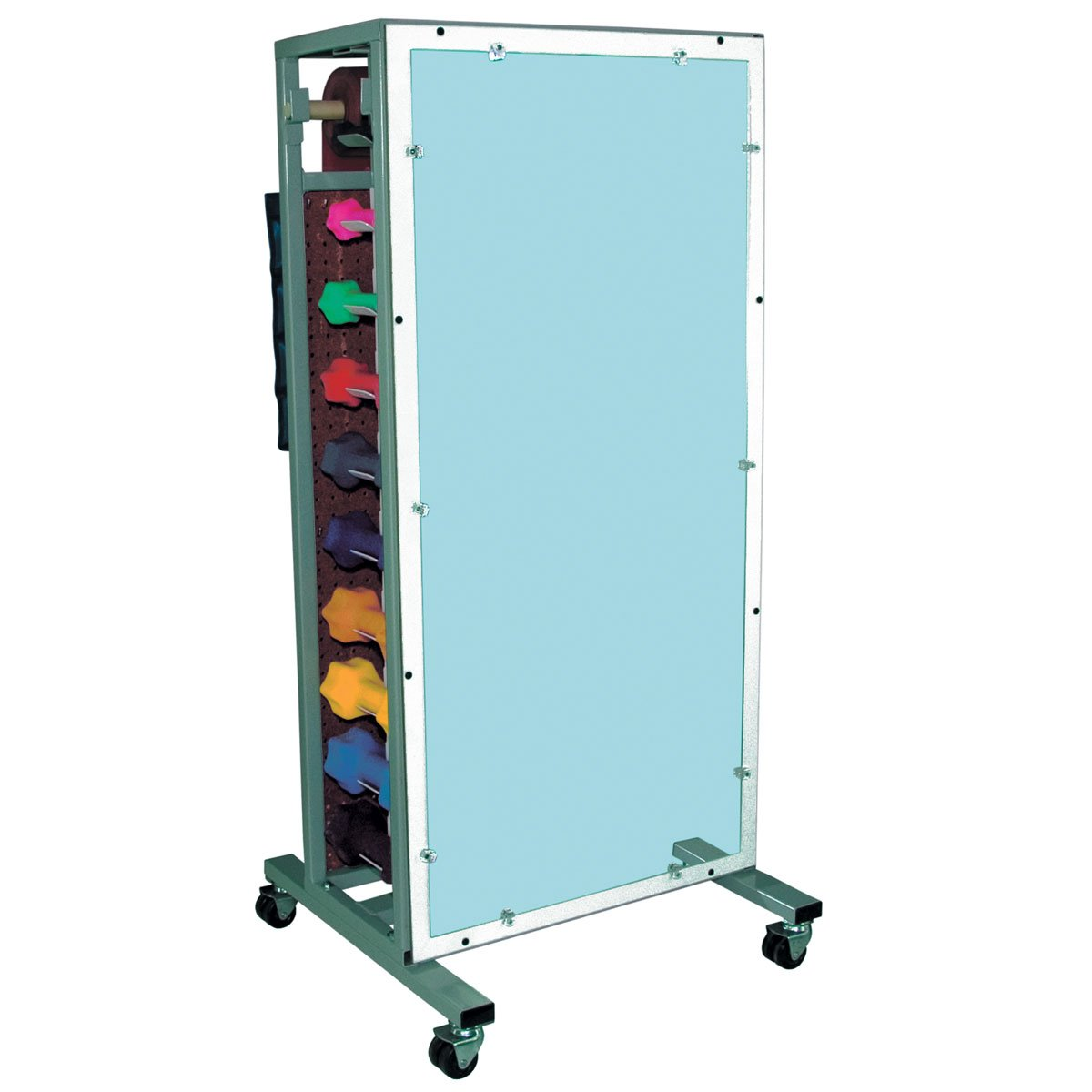 Ideal Medical Products MWR75 Combo Cuff Weight and Dumbbell Rack with Mirror by Ideal Medical Products, Inc.
