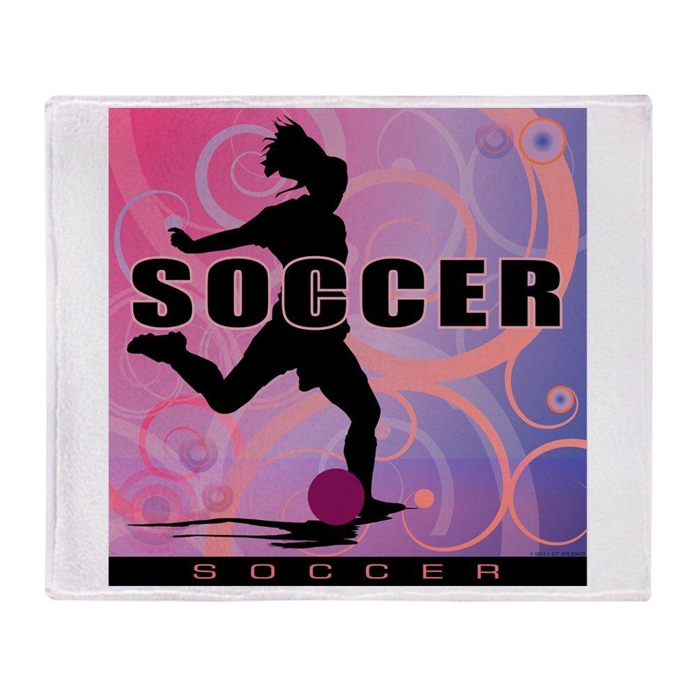 CafePress - 2011 Girls Soccer 2 - Soft Fleece Throw Blanket, 50''x60'' Stadium Blanket