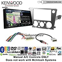 Volunteer Audio Kenwood Excelon DNX994S Double Din Radio Install Kit with GPS Navigation Apple CarPlay Android Auto Fits 2005-2009 Subaru Legacy, Outback