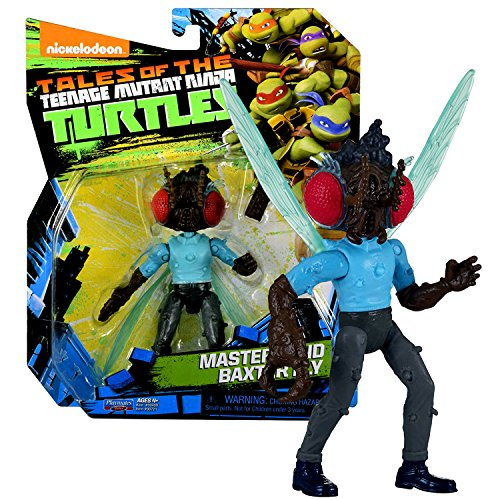 Playmates Year 2017 Tales of the Teenage Mutant Ninja Turtles TMNT Series 5 Inch Tall Figure - MASTERMIND BAXTER FLY STOCKMAN-FLY with Chocolate Bar