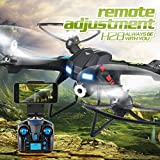 JJRC H28W 2.4G 4CH 6-Axis Gyro RC Quadcopter Drones With 0.3MP WIFI Camera,Tuscom@