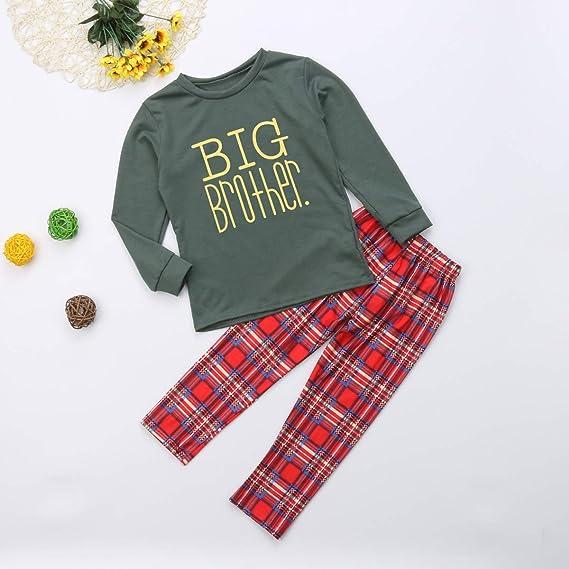 706a847b04 Matching Family Christmas Pajamas Kids Boys Adult Christmas Pajama Sets  Children's Pajama Sleepwear Family Matching PJ Sets: Amazon.co.uk: Baby