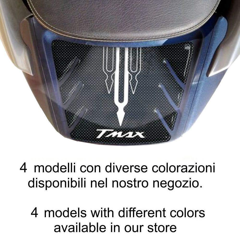 Carbone Rouge Adh/ésif Compatible Avec Tmax 500 Stickers 3d Queue Tmax 2001-07