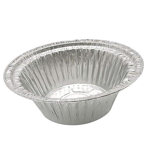 20 Pedazos Tazones de Papel de Aluminio para Comidas Horneadas ...