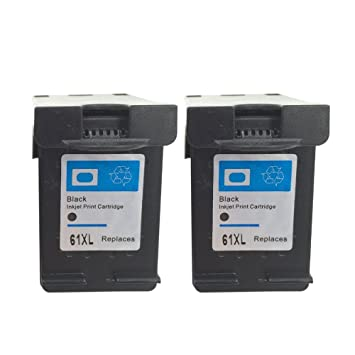 Amazon.com: inktoner 2 Pack (BK/C) Remanufacturado 61 x l ...