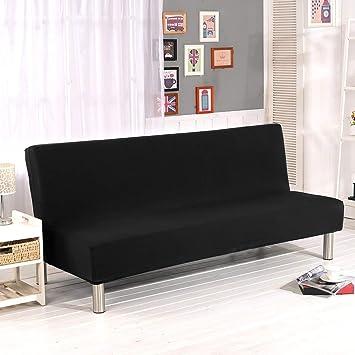45e5532af0a3b5 Cornasee Housse de Clic Clac élastique Canapé 3 Places,Salon Couverture de  Couleur Solide,