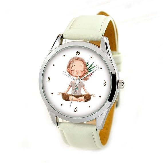 Reloj de pulsera unisex analógico de cuarzo para mujer, correa de piel, 38 mm