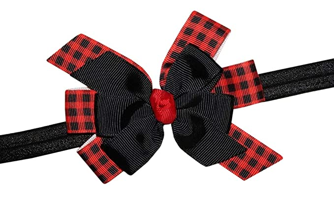 Amazon.com  WD2U Baby Girls Red Black Buffalo Plaid Woodland ... 7fc20369ccc