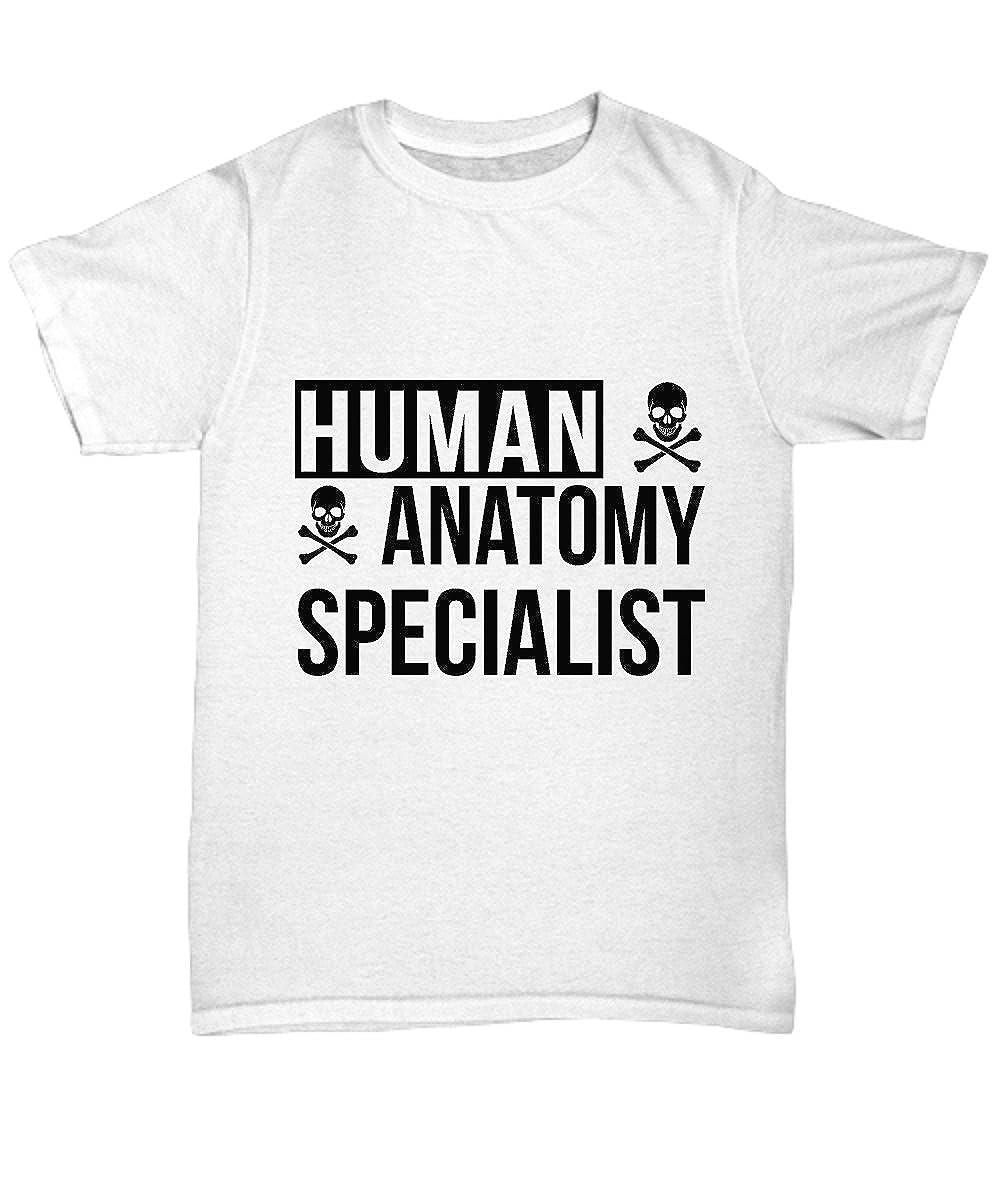 Mmandidesigns Human Anatomy Tee Shirt Cool White Tee Shirt Graphic
