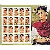 Frida Kahlo Sheet of Twenty 34 Cent Stamps Scott 3509