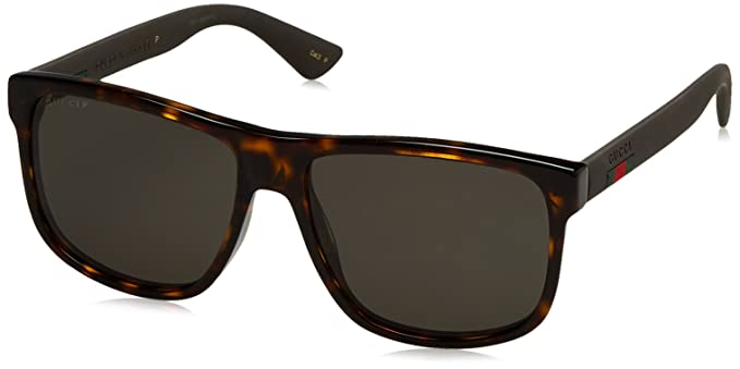 gucci 0010s. gucci men gg0010s 58 tortoise/grey sunglasses 58mm 0010s u