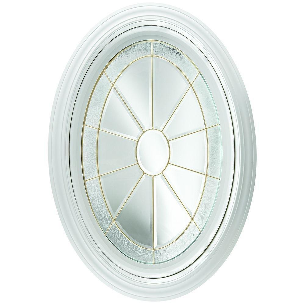Oval Geometric Vinyl Window