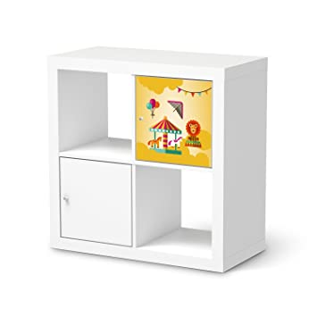 Creatisto Deko Folie Für IKEA Kallax Regal 1 Türelement | Jugendzimmer  Möbeldeko Klebefolie Tapete Folie
