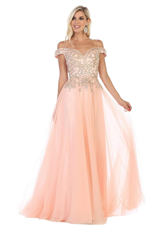 bluesh Formal Dress Shops Inc FDS1626 Wedding Destination AlIine Formal Gown