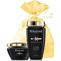 Kerastase Chronologiste Shampoo and Mask Set for All Hair Types (Chronologiste Bain & Mask) in an Exquisite Giftbag