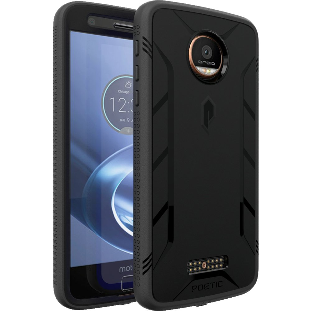 for motorola moto z force moto z force droid poetic revolution case 4 color ebay. Black Bedroom Furniture Sets. Home Design Ideas