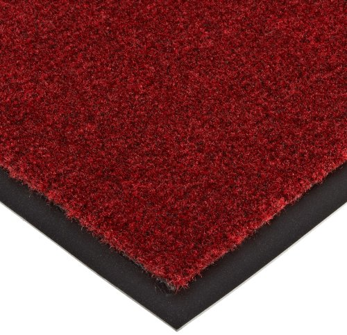 Mat Olefin - NoTrax T37 Fiber Atlantic Olefin Entrance Carpet Mat, for Wet and Dry Areas, 2' Width x 3' Length x 3/8