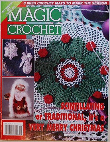 Christmas Filet Crochet - Magic Crochet - #140 - October 2002