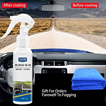 Anti niebla Spray, vidrio anti-niebla agente del automóvil ventana frontal vidrio anti niebla