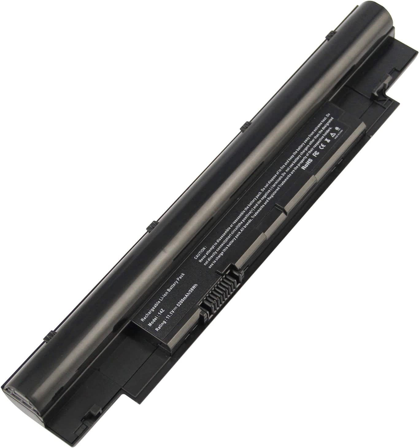 ARyee N311z Battery Compatible with Dell Inspiron 13Z N311z 14Z N411z Vostro V131 V131D V131R Latitude 3330 Series(5200mAh 11.1V)
