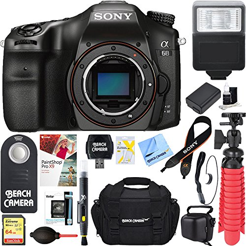 Sony ILCA68/B a68 A-Mount 24.2MP Digital Camera Body for sale  Delivered anywhere in USA