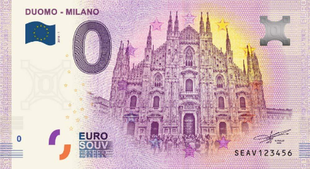 Italia 2018 - Milano Duomo - 0 Zero Euro Souvenir NumiSport€uro