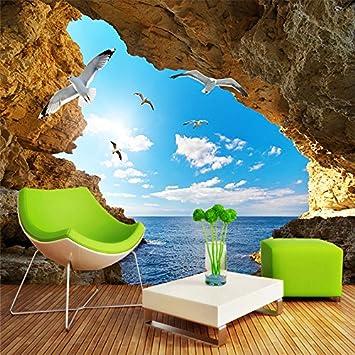 Wallpaper Experten Benutzerdefinierte Wandbild Tapeten Für Wand  Stereoskopischen 3D Marine Foto Tapete Für Wohnzimmer Schlafzimmer