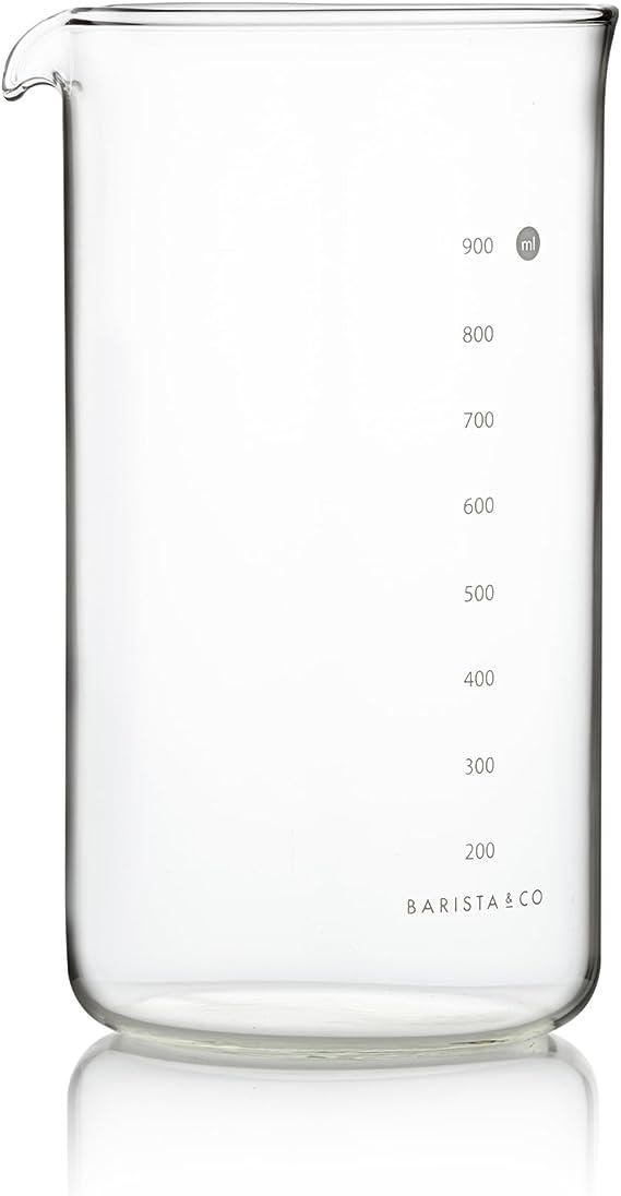 Compra Barista & Co 1000 ml/1 litro Vidrio 8-Cup Pot de Incisión ...