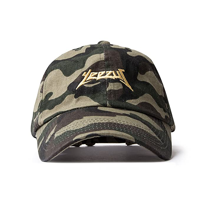 AA Apparel Yeezus Tour Glastonbury Dad Hat Kanye West Yeezy (Camo ... a327de6eb47