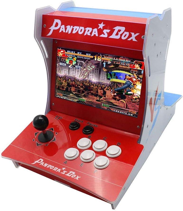 Amazon.com: Tongmisi Pandora's Box 9D Mini Bartop Arcade Machine ...
