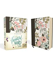 NIV, Beautiful Word Bible, Cloth over Board, Multi-color Floral: 500 Full-Color Illustrated Verses