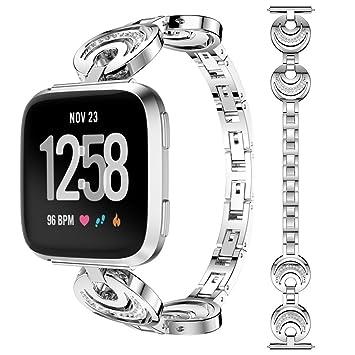 Remplacement Bracelet Gracieux Mode Happytop Band De Versa Fitbit wNnm80