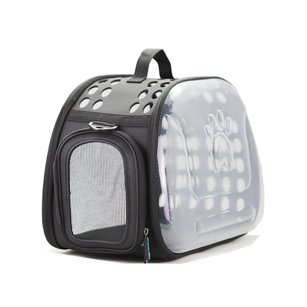 Black GWM Backpacks Transparent pet Carrier,Cat Travel Bag,Breathable and Lighteweight for Cat, Rabbit and Other Small Medium Sized Pets,28  45  32cm (color   Red)