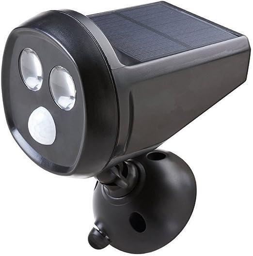 Mabor Foco LED Solar para Exterior, Luz LED de Jardín, Lámpara Giratoria 360 Grados, Sensor de Movimiento, Luz de Noche Regulable Automática, 180 Lúmenes, Impermeable IP65: Amazon.es: Iluminación