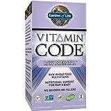 Garden of Life Prenatal Vitamins - Vitamin Code Raw Prenatal Whole Food Multivitamin Supplement for Mom and Baby, Vegetarian, 180 Capsules
