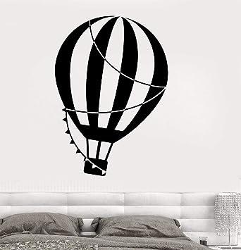 pegatinas pared Vinilo Tatuajes de pared Volar Globo aerostático ...