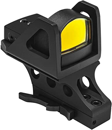 NcSTAR, Vism Micro Dot Reflex Optic with Quick Release KeyMod Mount, Black