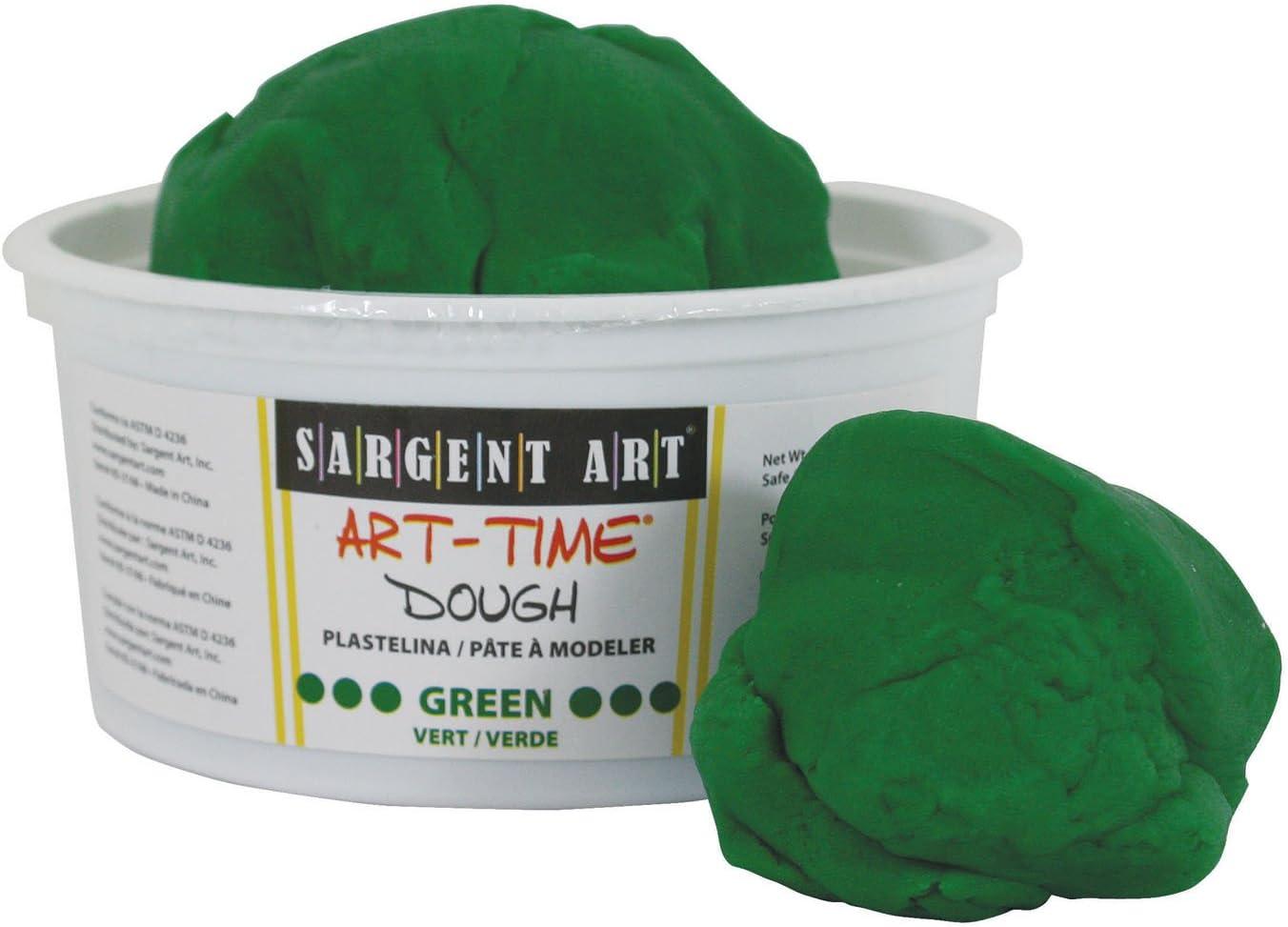 Sargent Art 85-3366 3-Pound Art-Time Dough Green