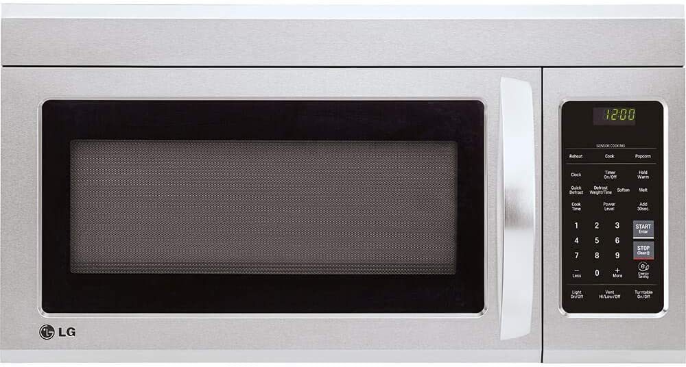 LG LMV1831ST 1.8 cu. ft. Over-the-Range Microwave Oven with EasyClean (Renewed)