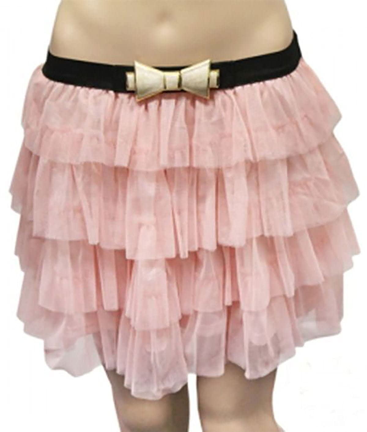 Islander Fashions Womens Crazy Chick 2 Capas Mesh Tiered Tutu ...