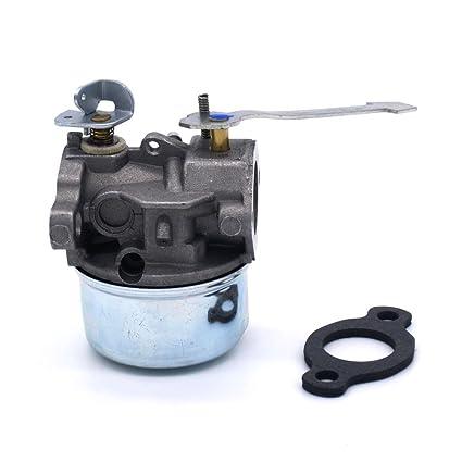 amazon com: nimtek new carburetor carb for tecumseh 640086 640086a 632641  632552 3hp 2 cycle engine: garden & outdoor
