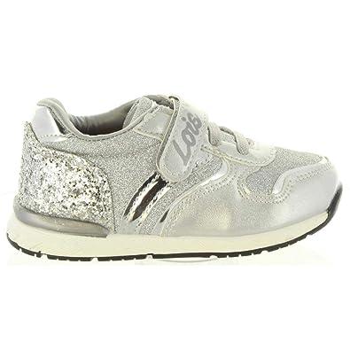 Zapatillas Deporte de Niña LOIS JEANS 46066 300 Plata Talla 30: Amazon.es: Zapatos y complementos