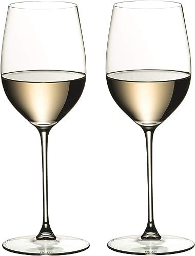 Riedel Veritas Chardonnay Wine Glasses, Set of 2, Clear