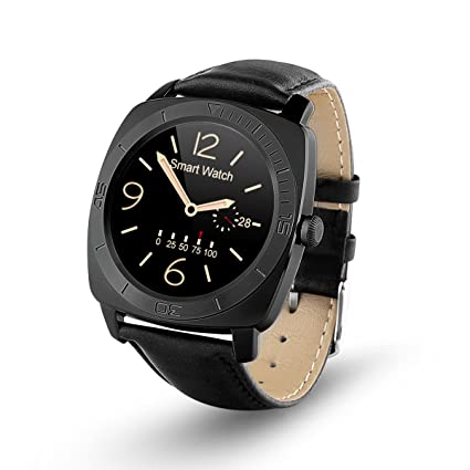 Amazon.com: OUMAX Smart Watch, S7 Round for iPhone 6S, 6S ...