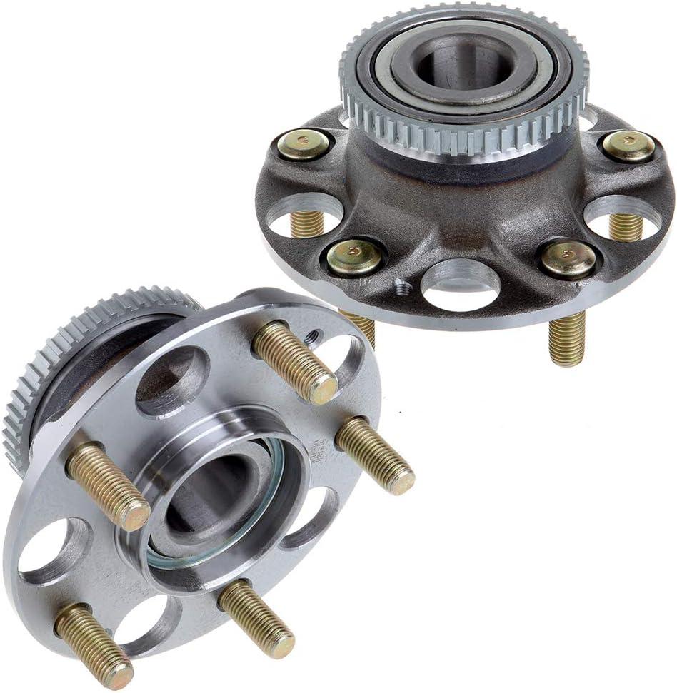 CTCAUTO Set of 2 Wheel Hub Assembly Rear 512188 fit for 03-07 Honda Accord 04-08 Acura TL Axle Hub Assembly Wheel Bearing