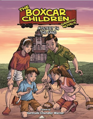 B O O K Mystery In The Sand The Boxcar Children Graphic Novels