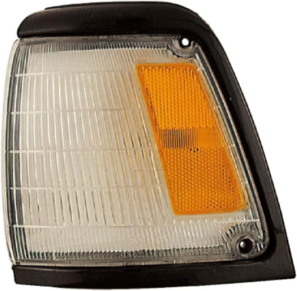 For 1992-1995 Toyota Pickup Parking Clearance Light Driver Side Base Model Black For TO2520125