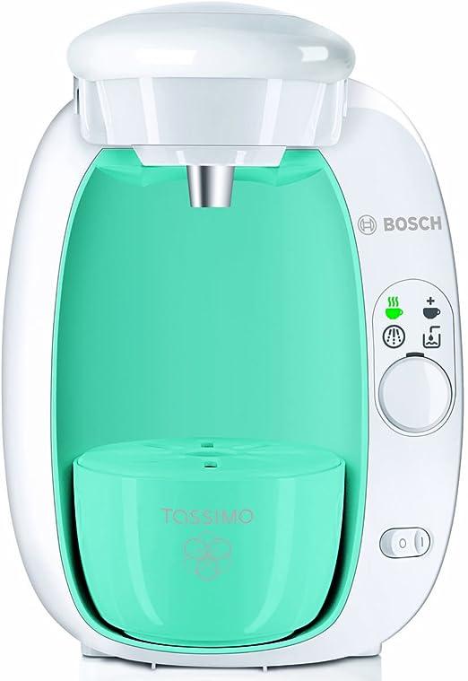 Bosch Tassimo T20 - Sistema de bebidas y cafetera con paquete de discos en T, color azul: Amazon.es: Hogar