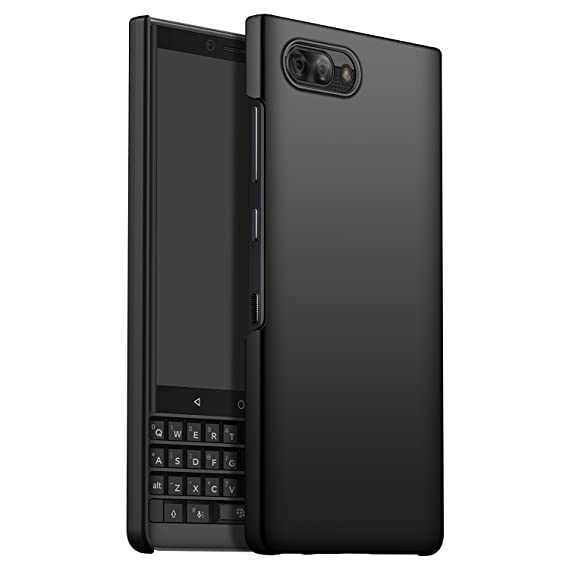 best service 6e605 1adc3 BlackBerry KEY2 Case Cover, CiCiCat Slim Hard PC Back Cover Shell Case,  Stylish Strong Thin Protective Case for BlackBerry KEY2 Smartphone (Black,  ...